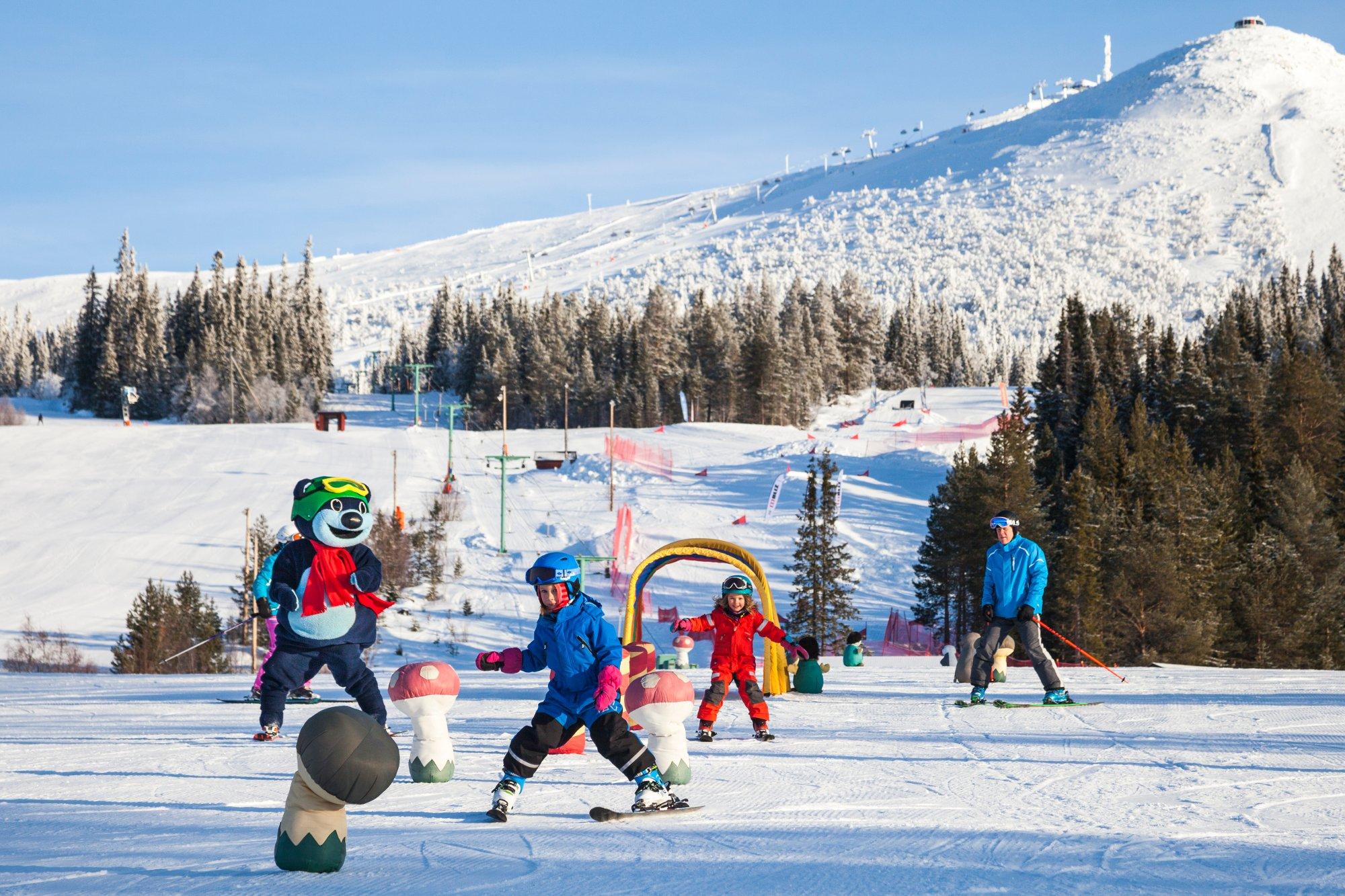 Digital destinationsguide lockar besökare till Lofsdalen