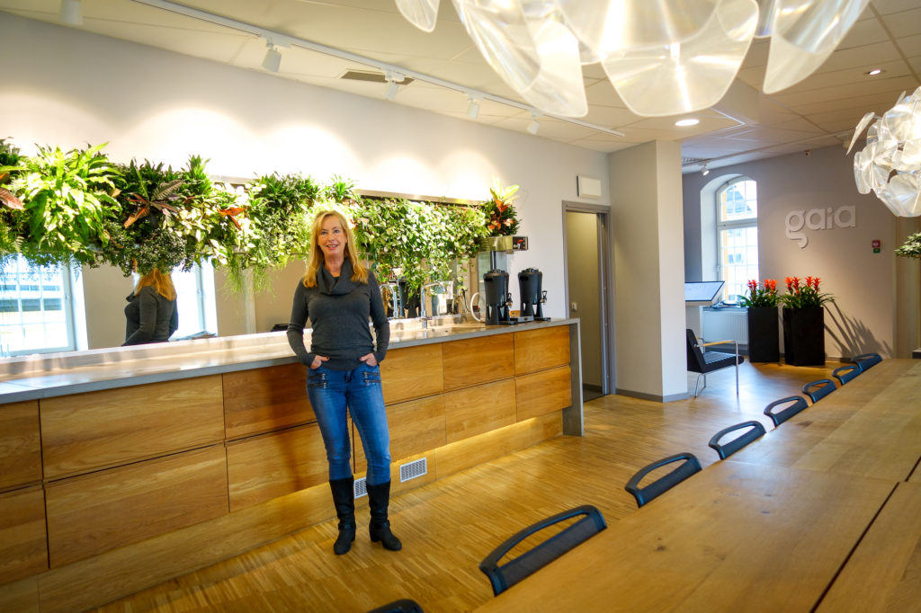 """Åsa Lindberg """"Det finns så mycket hjärta på Gaia"""""""